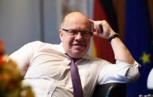 "German Minister Peter Altmaier said demonstrators should be in class; Australia's minister Dan Tehan said striking was ""not something that we should encourage"""