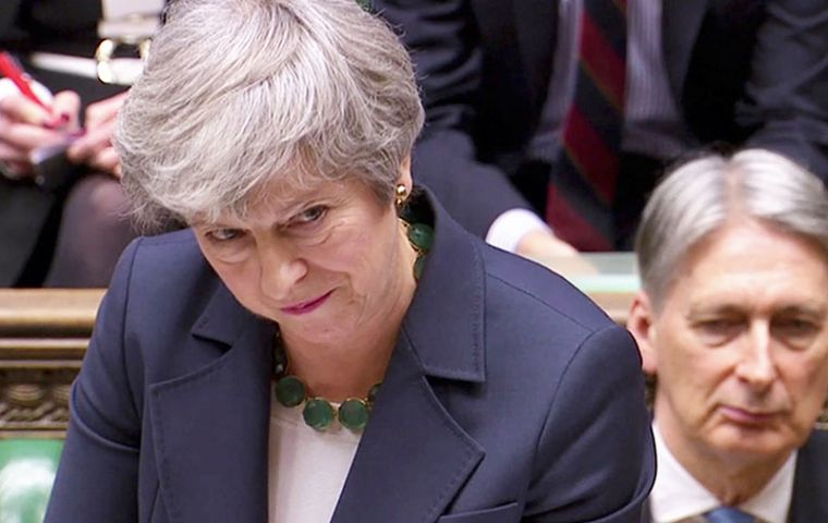 "Mrs. May plan is expected to be voted on for a third time, but Hammond said it would only be put to MPs if ""enough of our colleagues are prepared to support it"""
