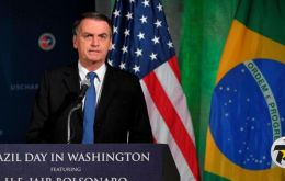 """We have good relationships around the world, but I am extending my hands so that the relationship with the US is increasingly more important"" said Bolsonaro"