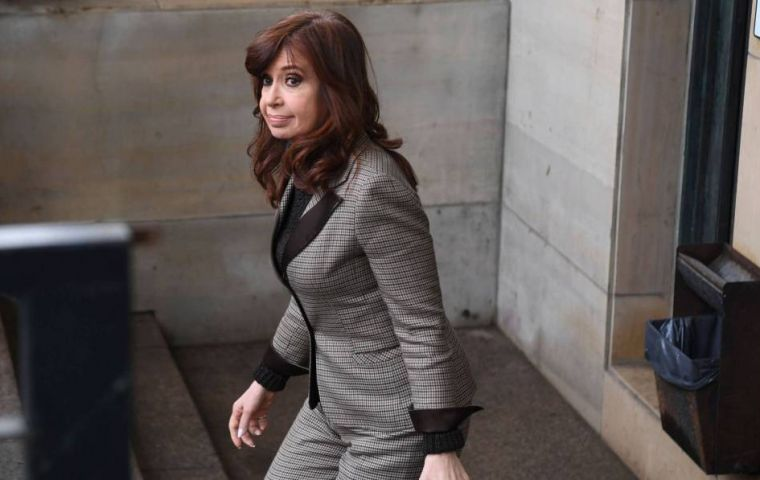 "Among the 10 cases brought against Cristina Kirchner, the most notable is the ""corruption notebooks"": she is accused of having received millions in bribes"