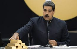 """God will provide diamonds, gold, oil and riches for the people of Venezuela and the social happiness. God will provide. Amen, let's say amen,"" implored Nicolás Maduro at a ceremony"