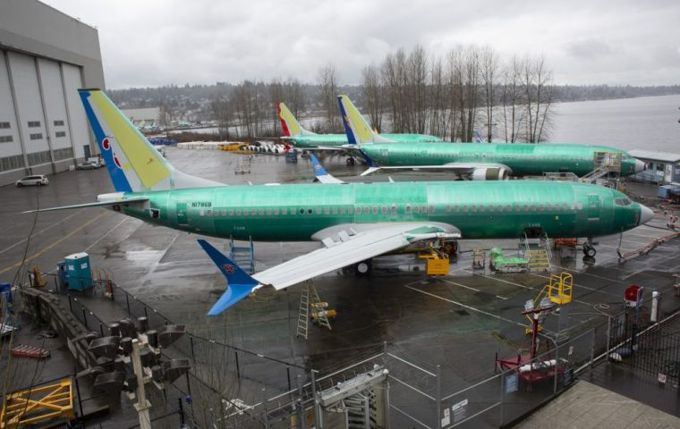 Boeing's commercial division makes major reshuffle in top positions; US$ 500bn in 737Max orders on hold