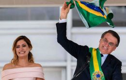 Bolsonaro took office on January 1, winning 55% of votes on promises to fight corruption and violence, as well as overhaul finances and revive economic growth.
