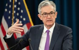 "Jerome Powell said the Fed would continue to be ""patient"", ""It may be some time before the outlook for jobs and inflation calls clearly for a change in policy"""