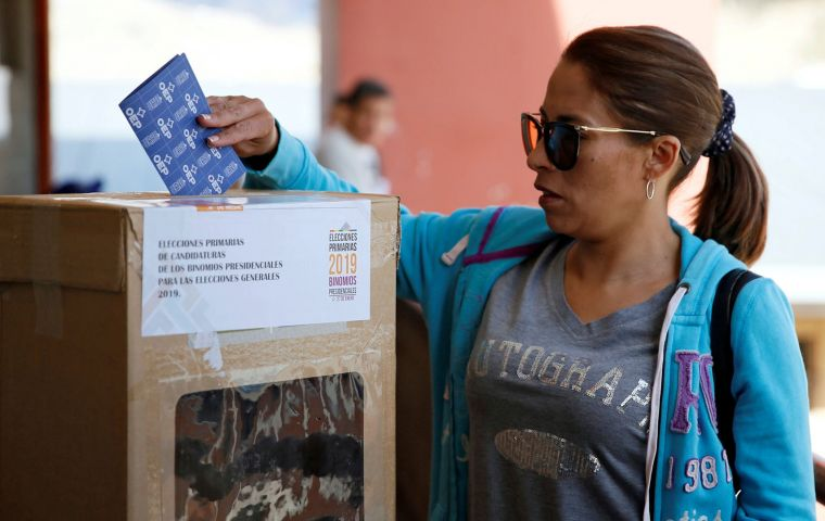 The reasoning for the decision is down to the large number of Bolivians that live in Argentina. Around 100,000 are registered to vote in the ballot.