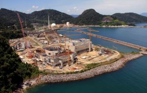 Angra 3, one of Brazil's several nuclear power plants