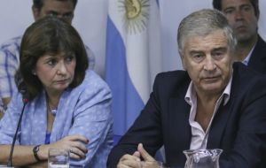 A Fisheries Control Board was agreed between Security minister Patricia Bullrich, Defense minister Oscar Aguad and Fisheries Under Secretary Juan Bosch
