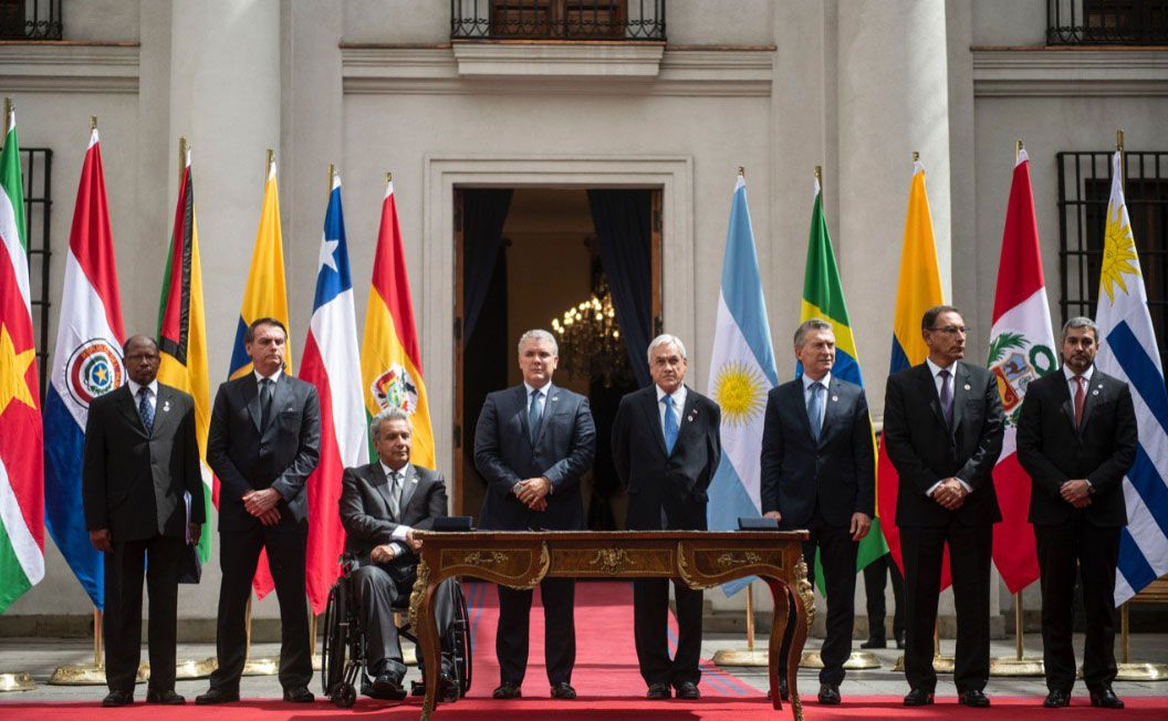 South American leaders launch new bloc to replace Unasur