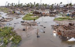 The storm has so far killed 557 people across Mozambique, Zimbabwe and Malawi, but the death toll is expected to rise
