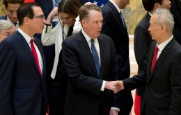 US Trade Representative Robert Lighthizer and Treasury Secretary Steven Mnuchin will fly to Beijing for talks with Chinese Vice-Premier Liu He