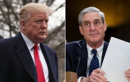 """There was no collusion with Russia. There was no obstruction. It was a complete and total exoneration,"" Trump said of Mueller's conclusions"