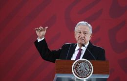 Andrés Manuel López Obrador said the indigenous peoples of Mexico had been the victims of massacres, and called for a full account of the abuses