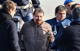 Cesare Battisti spent decades on the run. He was arrested in Bolivia in January after living in Brazil, and later extradited to Italy