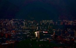Power went out in much of Caracas and nearly a dozen states in the early afternoon, stirring memories of a week-long outage earlier in the month