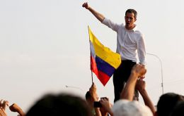 """The time has come to agitate in every state, in every community, to get water back, get electricity back, get gas back,"" Mr Guaidó told a rally in Caracas"