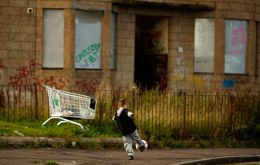 Statistics, published by the UK Department for Work and Pensions, shows the high cost of housing in the UK is pushing more working families over the poverty line. (Getty Images)