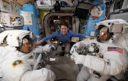 Anne McClain and Christina Koch had been due to step into history books in a spacewalk Friday, during the final week of Women's History Month.