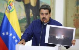 "Speaking on state television, Maduro said he had approved ""a 30-day plan"" to ration power, ""with an emphasis on guaranteeing water service."""