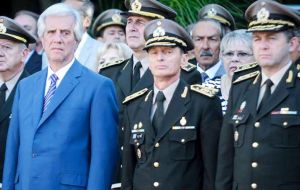 The explosive minutes of a military Tribunal of Honor with a crime admission, allegedly were not checked by the Executive Office but approved by Vazquez