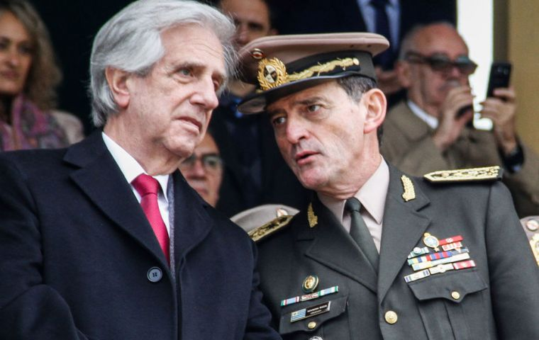 President Vazquez will have three different Army chiefs in less than a month