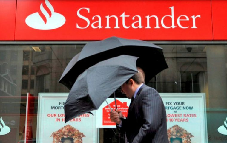 Though Brexit uncertainty is casting a shadow over Santander's third largest market, it expects solid growth in Latin America accounting for 43% of its profits