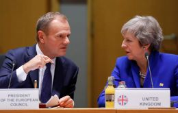 EC President Donald Tusk plan would allow the UK to leave sooner if Parliament ratifies a deal, but it would need to be agreed by EU leaders at a summit next week.