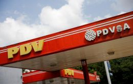 The Treasury Department said it was designating 34 vessels of PDVSA as blocked property, meaning that the United States will block all transactions with them