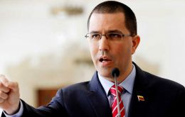 "Minister Jorge Arreaza said he would not reveal Venezuela's ""strategy,"" but that the sanctions would not stop the shipments."