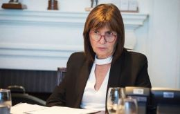 """Our policy of international collaboration allows us to instantaneously know where they are,"" Argentina's Security Minister Patricia Bullrich tweeted"