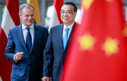 "Donald Tusk hailed Beijing's commitments at an EU-China summit in Brussels as a ""breakthrough"" with both sides committed to globalization and international rules"