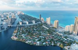 In 2018, international buyers spent US$ 8.7bn on residential properties in Miami-Dade, Broward and Palm Beach counties, up 22.5% from US$ 7.1 billion in 2017
