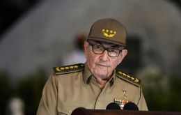 """We will never abandon our duty of acting in solidarity with Venezuela,"" Castro said. ""We reject strongly all types of blackmail."""
