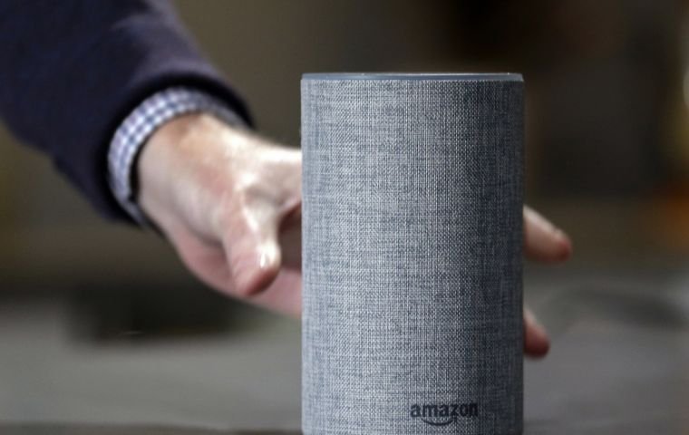 Amazon's voice recordings are associated with an account number, the customer's first name and the serial number of the Echo device used.