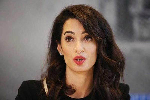 Amal Clooney appointed UK's special envoy on media freedom — MercoPress