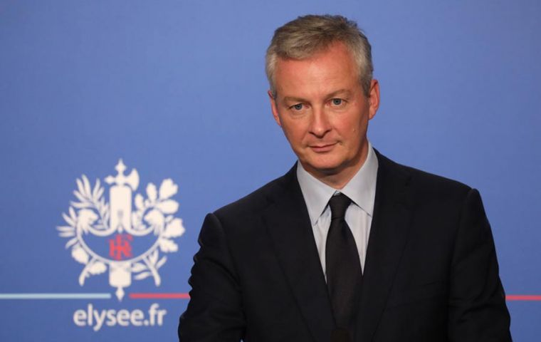 """Countries with solid budgets must invest more,"" Le Maire said. A similar message from IMF which urged Germany in particular to boost spending"