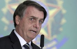 """We can forgive, but we cannot forget. That quote is mine. Those that forget their past are sentenced not to have a future,"" AP quoted Bolsonaro saying"