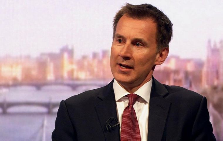"Foreign Secretary Jeremy Hunt said the public would find it ""hugely disappointing"" to be asked to send MEPs to Brussels."