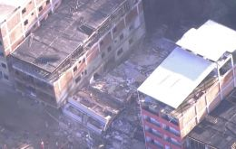 Rio de Janeiro's mayor's office and firefighters said on Monday that ten people were killed when two buildings in the Itanhanga neighborhood collapsed last week.