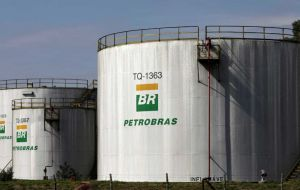 "Petrobras slumped after it canceled a diesel price hike in the wake of President Jair Bolsonaro's call for ""fair"" prices out of concern for truckers"