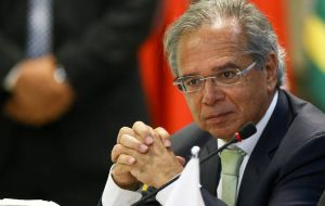 Economy Minister Paulo Guedes, said that participants in the auction will need to cough up a signing bonus of a total US$26.9 billion for the four blocks.