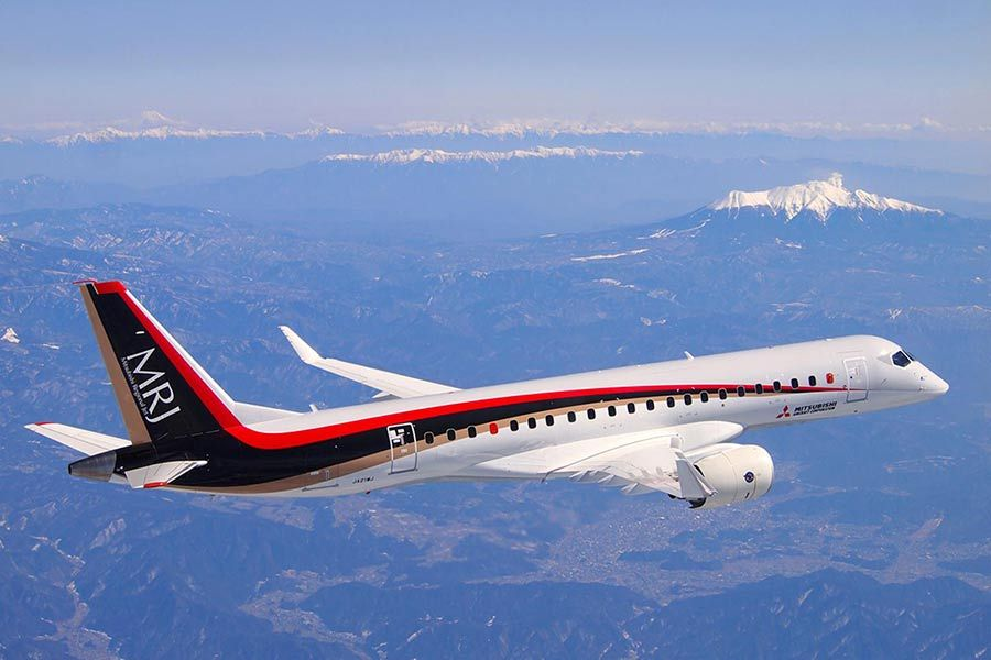 Japan joins the mid-sized commercial aircraft market: right