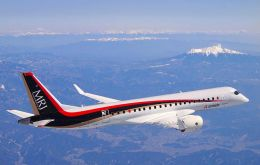 Mitsubishi Regional Jet (MRJ), the first airliner built in Japan since the 1960s, began certification flights last month in Moses Lake, Washington