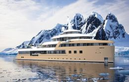 SeaExplorer 77 is an expedition yacht, which can break ice up to 40 centimeters thick and maintain autonomy at sea for up to 40 days
