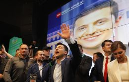 Candidate Zelensky blurred the line between politics and entertainment. He chose to address voters via social networks and perform in gigs with his sketch troupe