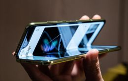 In April, several early reviewers found the display on the Galaxy Fold broke after just a few days. Samsung has not said when the £1,800 device will go on sale.