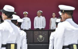 """All I want to say is that we're going to guarantee peace in Veracruz, that's my commitment,"" said Lopez Obrador, often known by his initials AMLO."