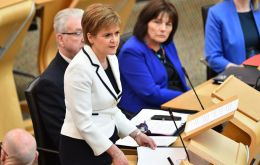 Nicola Sturgeon told Holyrood that she would introduce legislation soon to set the rules for another vote