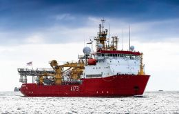 HMS Protector spent a lot of her time in Antarctica supporting scientists and surveying the channels and waterways around the frozen continent.
