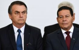 Mourao's more pragmatic approach on foreign affairs and hot-button cultural issues has drawn the ire of the president's hard line conservative advisers