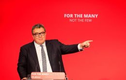 "Watson recalled in a BBC interview that the party's policy agreed at last year's conference was to go for a referendum ""to stop a no-deal or a bad Tory Brexit."""